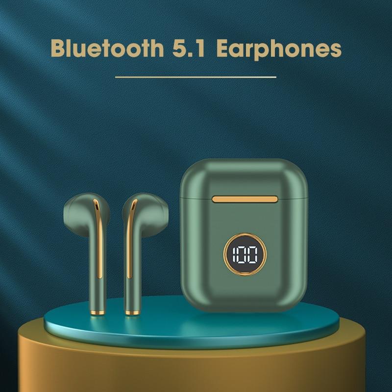 TWS صحيح سماعة لاسلكية تعمل بالبلوتوث سماعات سماعة الألعاب تشغيل الرياضة سماعات أذن لنظام أندرويد iOS التحكم باللمس سماعات J18 ترقية