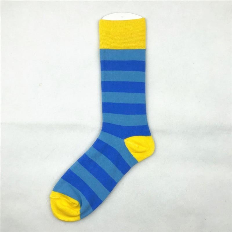 2020 Hot Sale Casual woman Socks New Socks fashion design Plaid Colorful happy Business Party Dress Cotton Socks woman