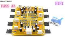 GZLOZONE PASS A3 комплект с однократным усилителем мощности класса A готовая плата 30 Вт + 30 Вт поддерживает сбалансированные и несбалансированные входы