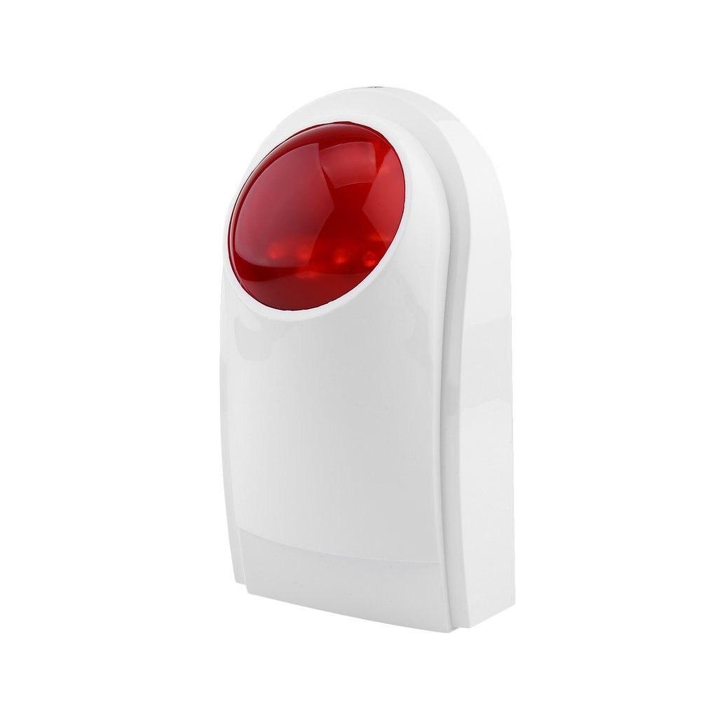 Leshp sistema de alarme segurança para wif gsm pstn casa sem fio ao ar livre à prova dwireless água som estroboscópio 105db flash sirene alarme