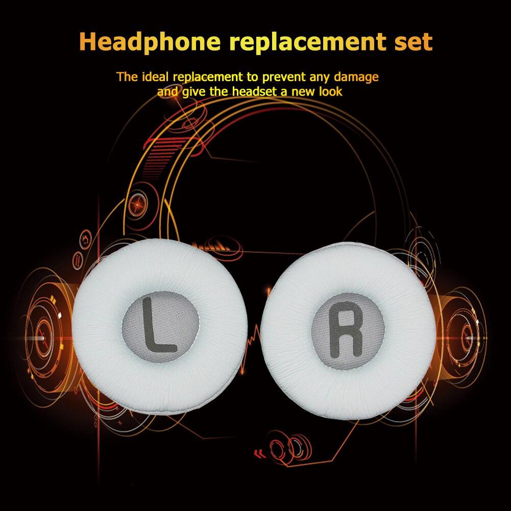 Earpads facilmente carregando parte leve fone de ouvido para jbl tune 500bt 600btnc proteína espuma couro almofada da orelha substituição