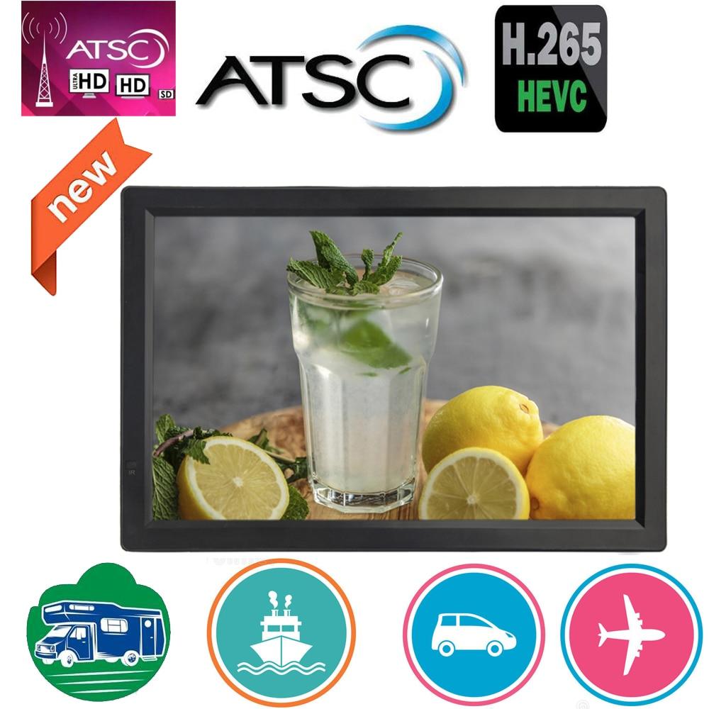 Leadstar 14 polegada hd portátil mini tv construído em ATSC-T digital tuner atsc decodificador suporta h265/hevc/dolby ac3
