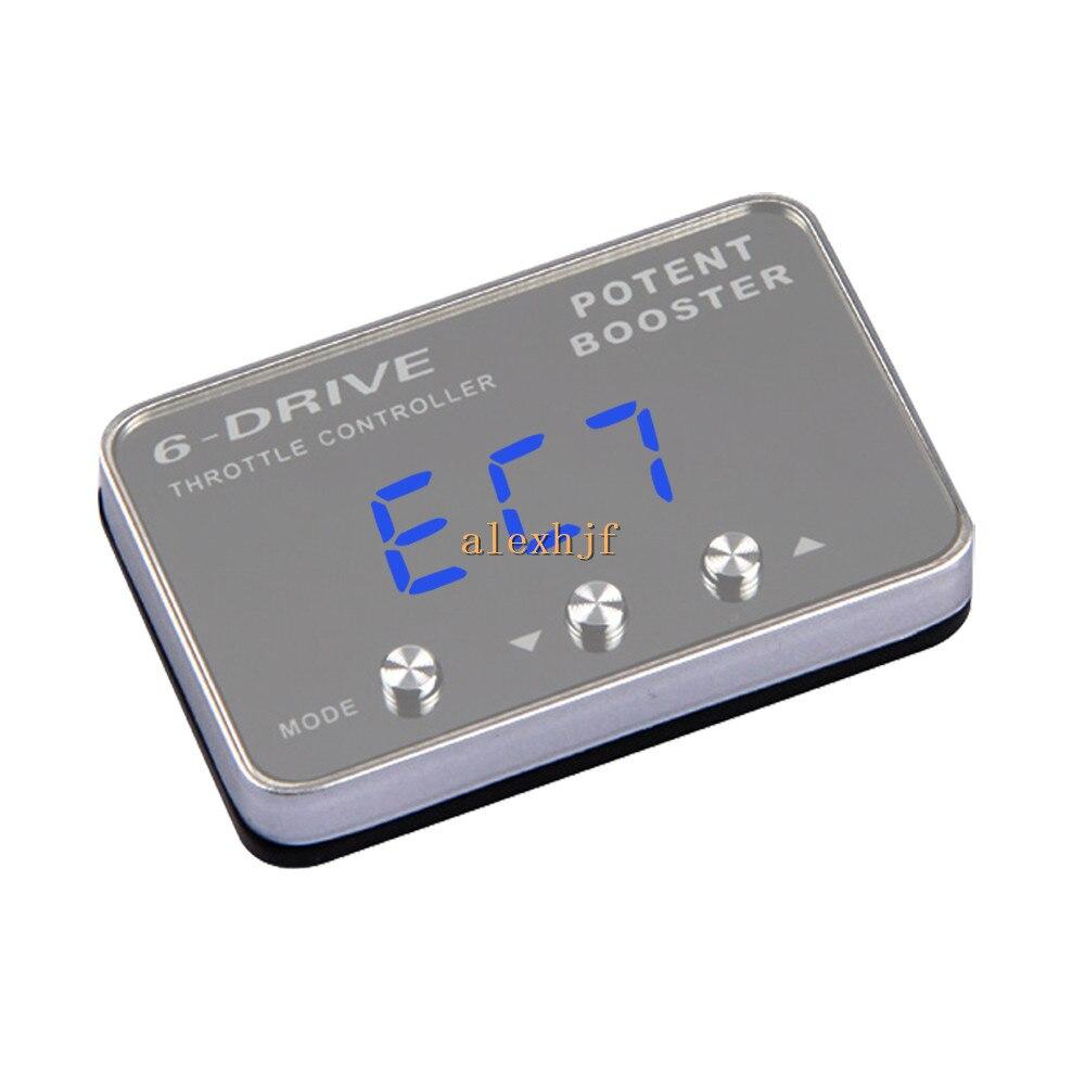 TROS-coque de manette électronique   Puissant Booster II 6 Drive, coque daccélérateur pour Nissan Tiida Sylphy Maxima Prarie X-trail Renault koleos