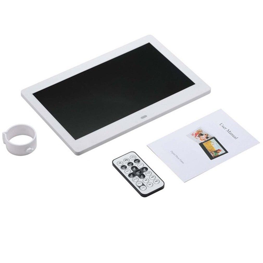 10 بوصة شاشة LED الخلفية HD إطار صور رقمية ألبوم إلكتروني صور الموسيقى فيلم وظيفة كاملة هدية جيدة