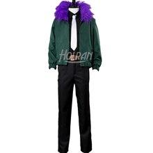 Mon héros académique Boku pas de héros Akademia Kai Chisaki Cosplay Costume veste verte déguisement dhalloween masque