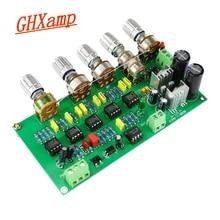 GHXAMP Subwoofer Vorverstärker Filter Bord TL072 Ton Low Pass AWCS Dynamische Ausgleich 5,1 Sub Verstärker Single-ended ausgang