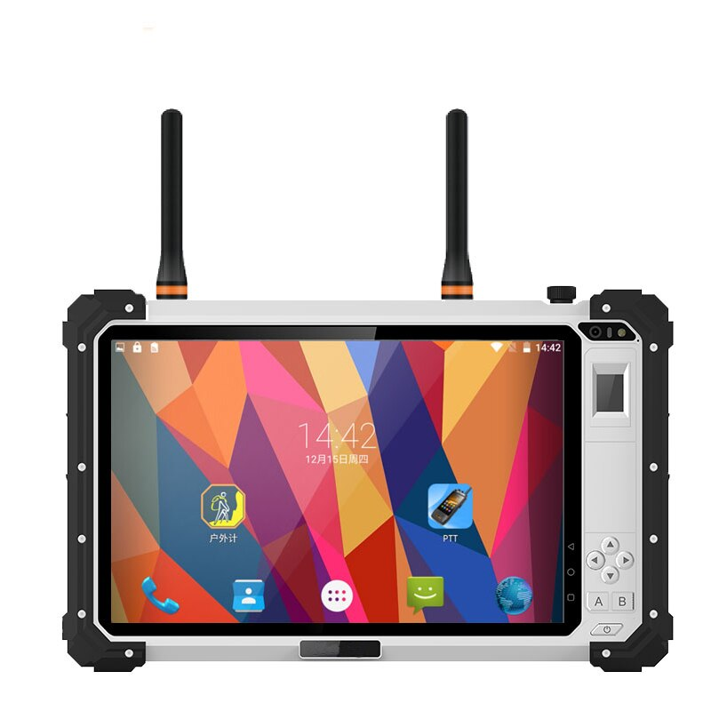 2021 Rugged Android Tablet PC IP67 Waterproof Push to Talk Phone DMR UHF PTT Radio 10