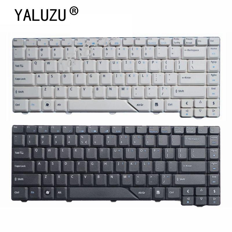 YALUZU ordenador portátil teclado Inglés para Acer Aspire 5715 5715Z 5720G 5720Z...