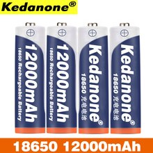 18650 rechargeable battery 3.7V 18650 12000mAh capacity li-ion rechargeable battery for flashlight flashlight battery