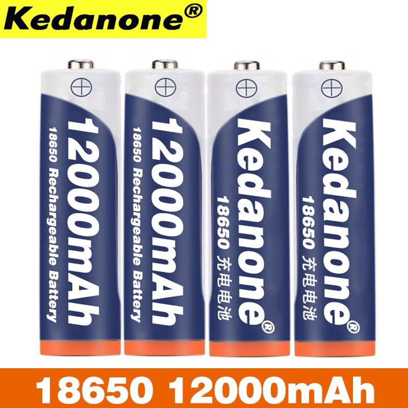 18650 batterie rechargeable 3.7V 18650 12000mAh capacité li-ion batterie rechargeable pour lampe de poche lampe de poche batterie
