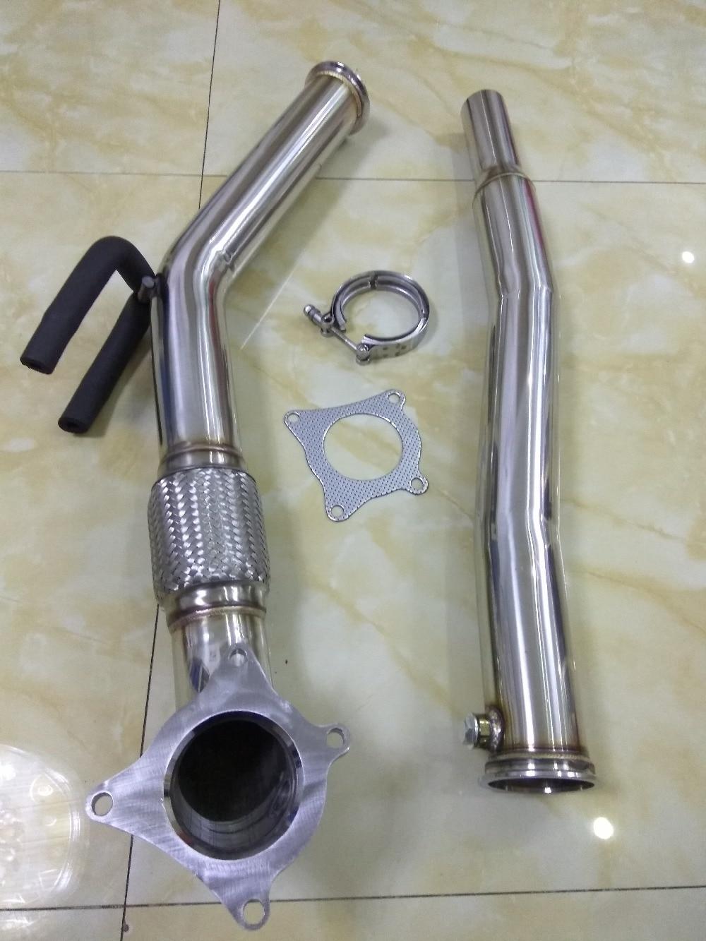 Unten rohr für GOLF GTI 2,0 A3 FSI SITZ LEON FR CUPRA MK5 MK6 UNTEN ROHR FALLROHR jetta dump rohr 3.0