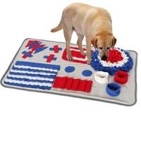 dog snuffle mat puzzle toys increase iq slow dispensing feeder pet cat puppy training games feedingfeeding food intelligence toy