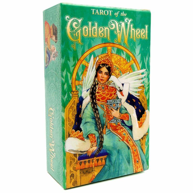 Tarots der Goldene Rad 78 Karten Deck Tarots Brettspiel Familie Party Oracle