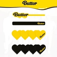 new album butter kpop bangtan boys new style acrylic hairpin hairclip hair clips accessories for women