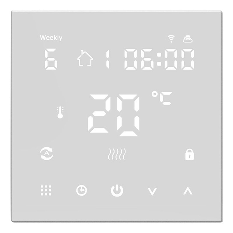 Tuya واي فاي الذكية ترموستات ، الذكية واي فاي ترموستات ، المياه التدفئة تحكم في درجة الحرارة لجوجل المنزل ، اليكسا ، 3A