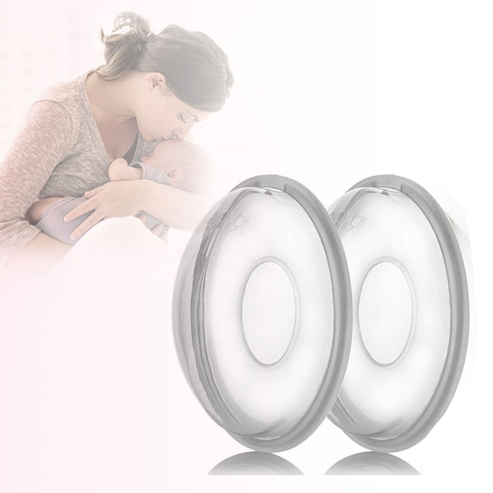 1 Pair Silica Gel Collection Cover Baby Feeding Breast Milk Collector Soft Postpartum  Suction Container Reusable Nursing Pad 1 pair silica gel collection cover baby feeding breast milk collector soft postpartum suction container reusable nursing pad