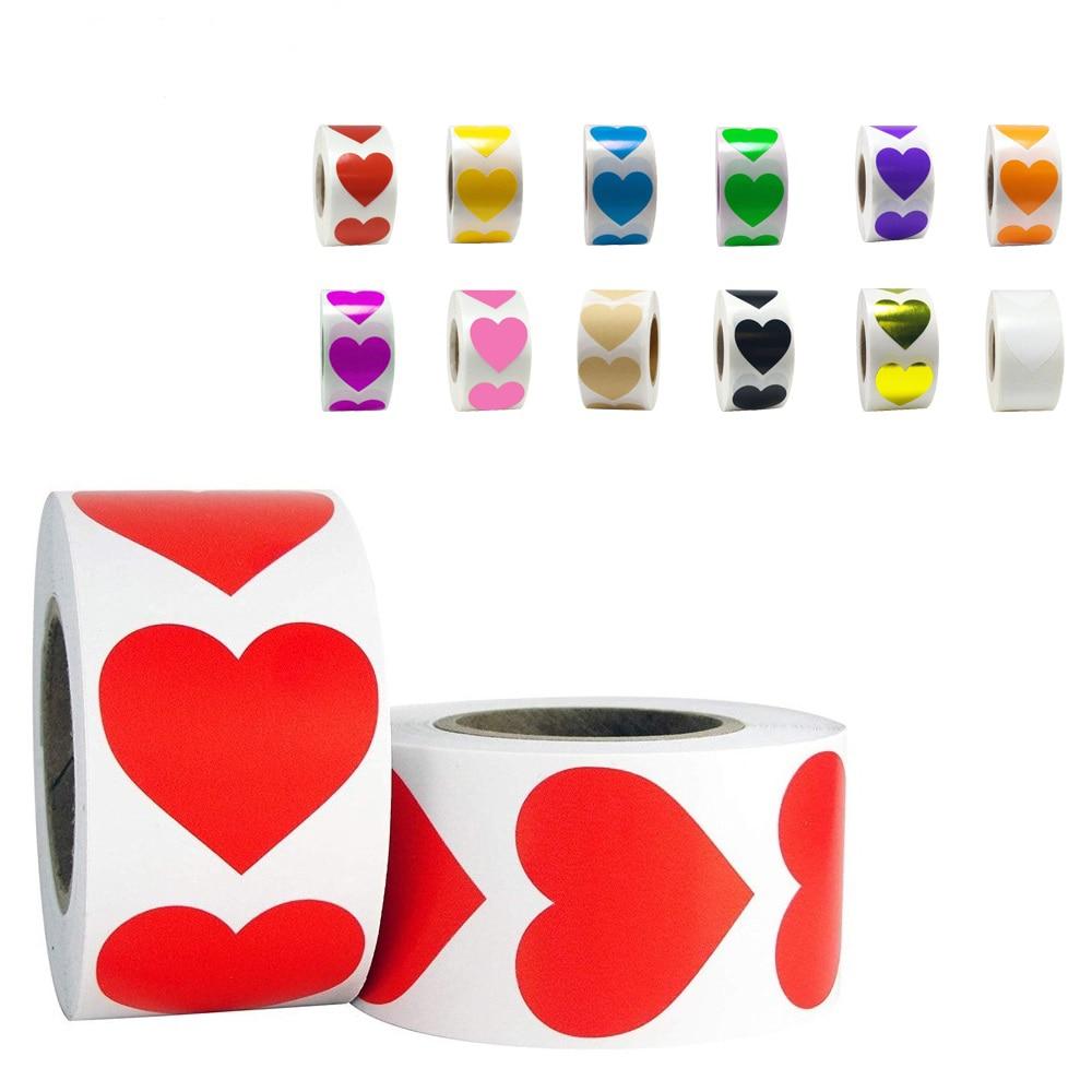 50pcs-wad-amore-a-forma-di-cuore-autoadesivo-della-guarnizione-etichette-scrapbook-per-confezione-regalo-di-compleanno-rifornimenti-del-partito-sveglio-della-cancelleria-sticker