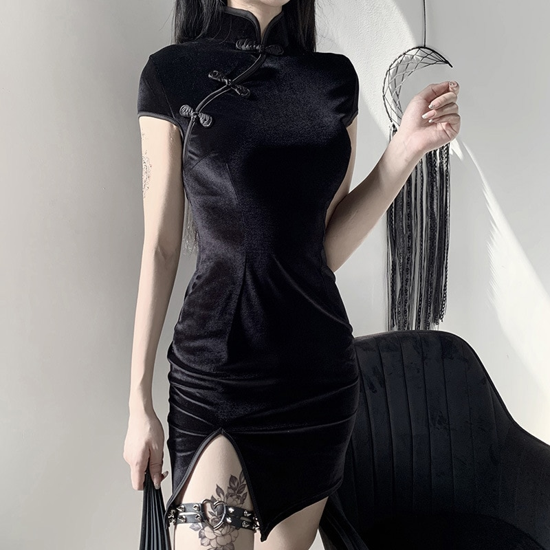 2020 limitada promoção algodão solto plus size ucrânia vestidos mujer pouco vestido melhorado menina escura feminino retro sexy francês