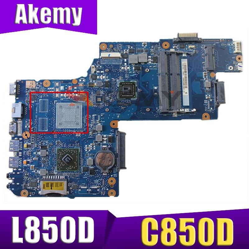 AKEMY اللوحة الأم للكمبيوتر المحمول توشيبا C850D C855D L850D L855D H000052440 أعمال اللوحة الرئيسية