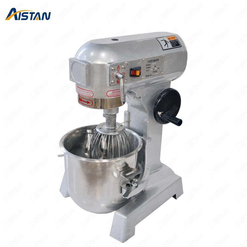 ZB10L mezclador planetario de Mezclador de alimentos eléctrico de acero inoxidable, mezclador de masa, máquina batidora de huevos