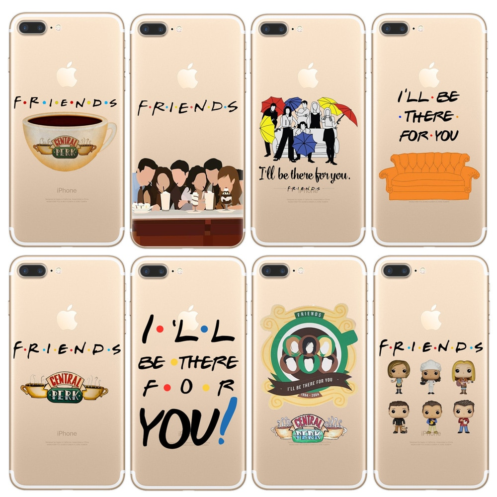 For iPhone 11 Pro X XR XS Max 7 8 6 6S Plus 5 5S SE Phone Case Friends TV Show Funny Central Perk Park TPU Soft Cover Coque Capa