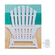 65*51mm chaise métal découpe matrices Scrapbooking pochoirs bricolage matrices Cutter artisanat à la main