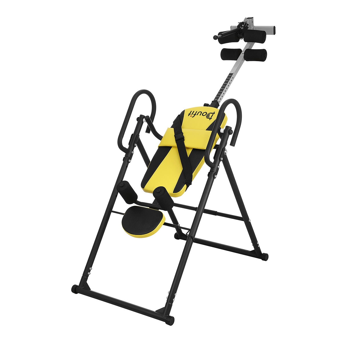 Doufit IT-03 136KG plegable Handstand máquina hogar plegable gimnasio Fitness equipo interior Headstand ejercicio Abdominal Trainer