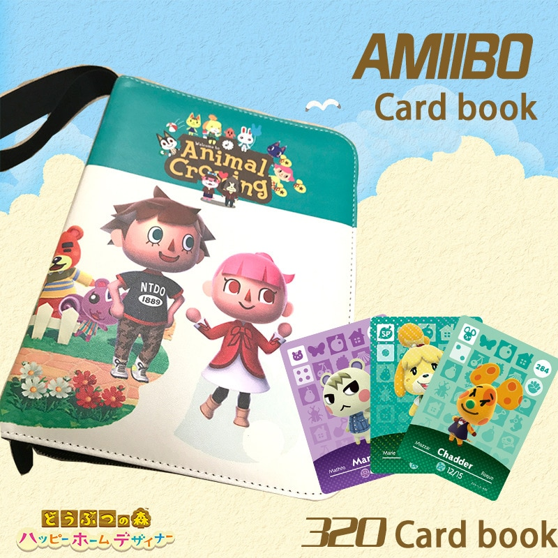 320 Cards Animal Crossing Card Book Pet Collection Book Hobby Collectibles Game Collection Anime Cards for Children