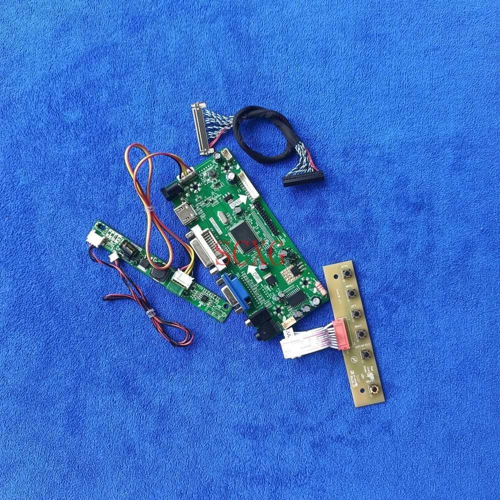 1920*1200 لتقوم بها بنفسك عدة LVDS 30-Pin مراقب HDMI-متوافق VGA DVI LCD/LED ل LM240WU8/LM240WUA/LM240WUB M.NT68676 لوحة تحكم