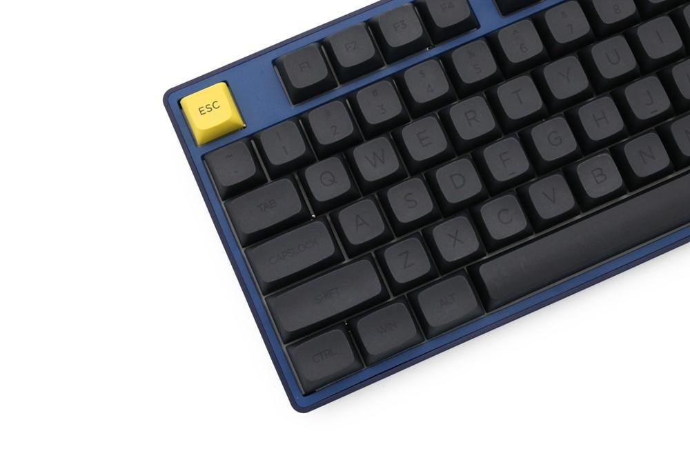 XDA V2 Gentleman Set Dye Sub Keycap Set thick PBT for keyboard gh60 poker 87 tkl 104 ansi xd64 bm60 xd68 bm65 bm68 Japanese RU enlarge