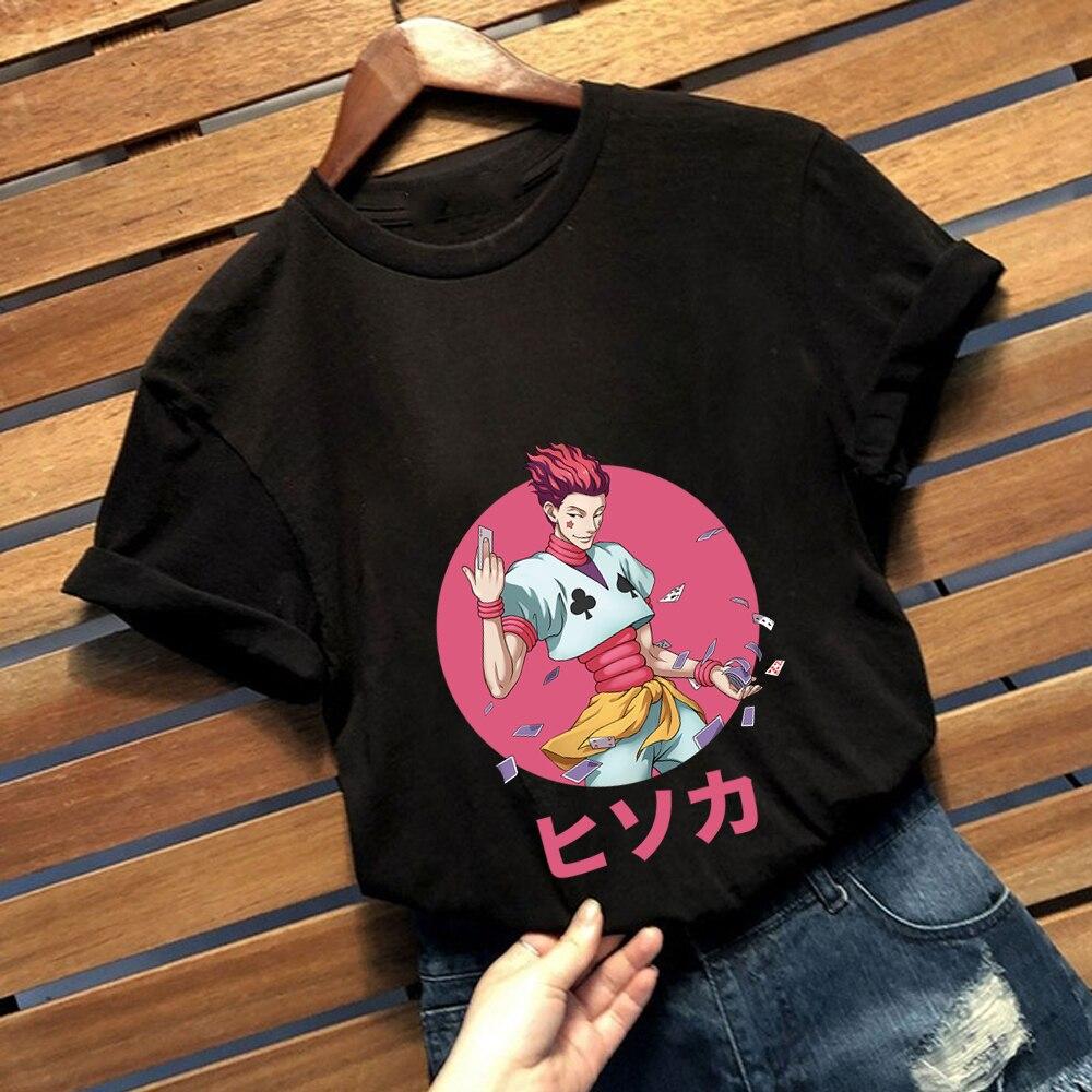 Japón Anime de Hunter X Hunter Hisoka T camisa mujeres Camiseta de...