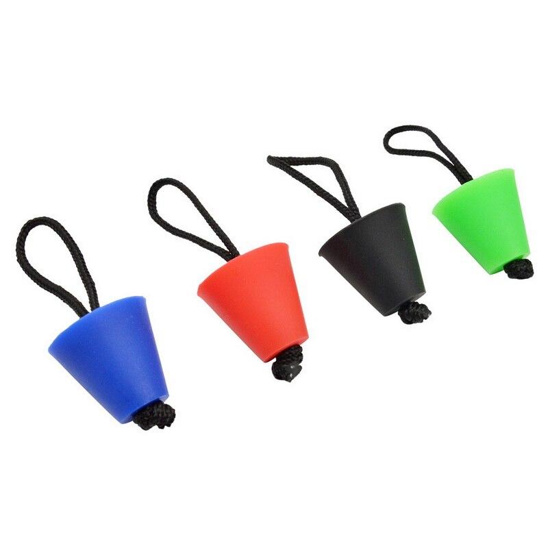 Topes de 4 Uds. Para Kayak, canoa, desagüe de silicona, agujeros, enchufe con cuerda, bote inflable, canoa, bote de remos, accesorio