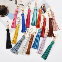 tassel keychain polychromatic schoolbag pendant good looking tassel pendant universal fashion bag accessories bag pendant