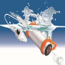 Waterproof MP3 Player FM Radio Earphone For Swimming Diving Underwater Sports MP3 Music Player 4G/8G