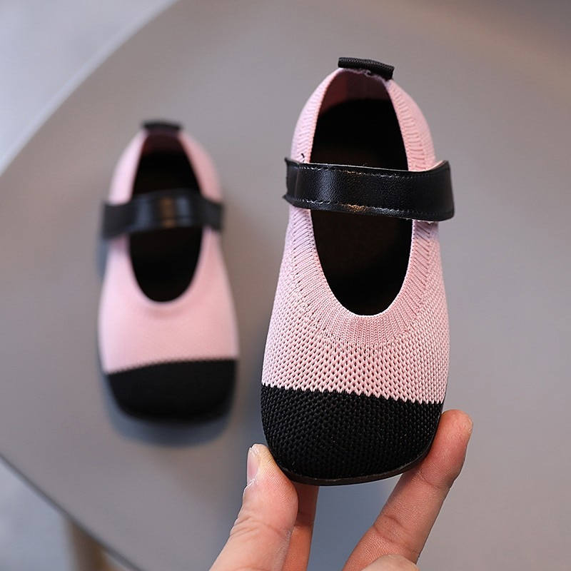 ULKNN Baby Princess Shoes 1-3 Years Old Spring and Summer Breathable Net Shoes Single Soft Sole Baby Net Toddler Shoes
