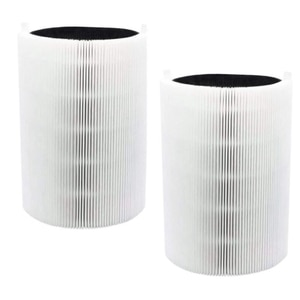 2 Pcs Replacement Filter For Blueair Blue Pure 411,411+ & Mini Air Purifier,HEPA & Activated Carbon Composite Filter