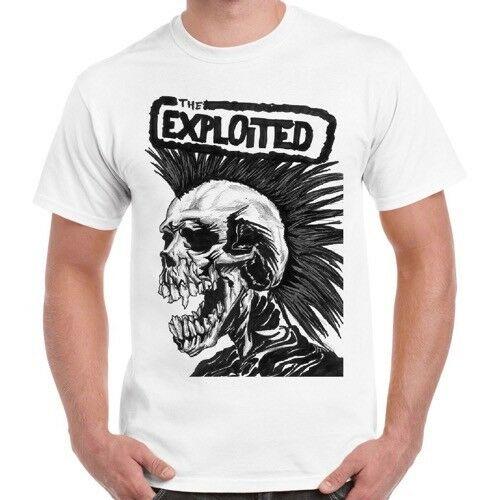 Ausgenutzt Hardcore Punk Rock Band Musik Retro Vintage Unisex T Hemd 1035