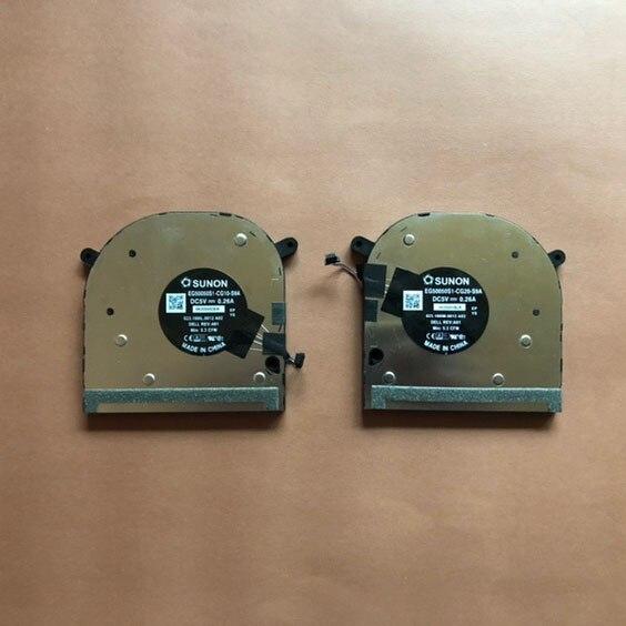 جديد لديل XPS17 2020 9700 الدقة 5750 مروحة كمبيوتر محمول CN-0XXV2K CN-0VV91R