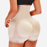 Sponge Fake Butt Lifter Sexy Underwear Hip Enhancer Padded Panty Body Shaper High Waist Trainer Slim Tummy Control Panties S-6XL