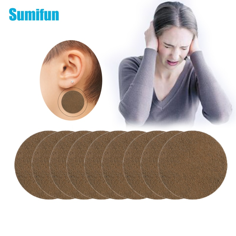 18pcs Tinnitus Treatment Patch For Ear Pain Protect Hearing Loss Sticker Natural Herbal Extract Medi
