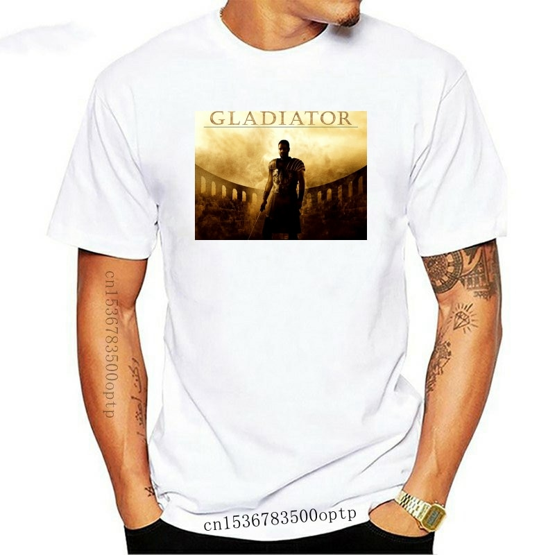 New Gladiator Movie Russell Crowe T Shirt