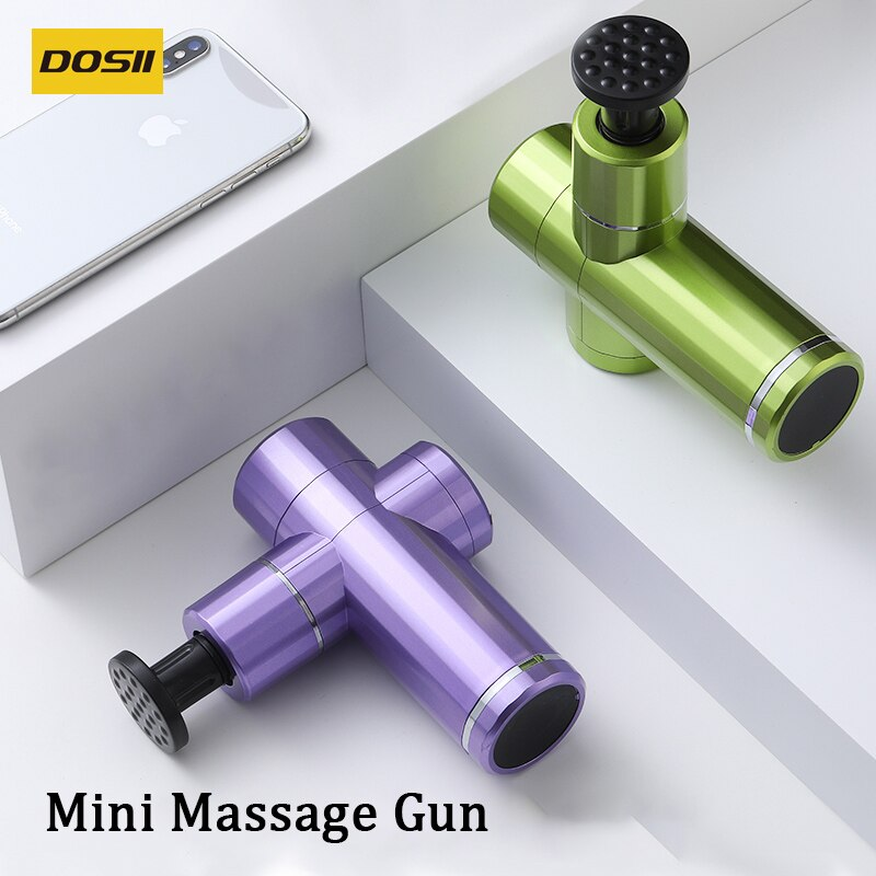 Massage Gun Fascia Gun Mini Neck Back Body Massager Deep Muscle Massage Slimming Relaxation Vibrator Pain Releif  Fitness