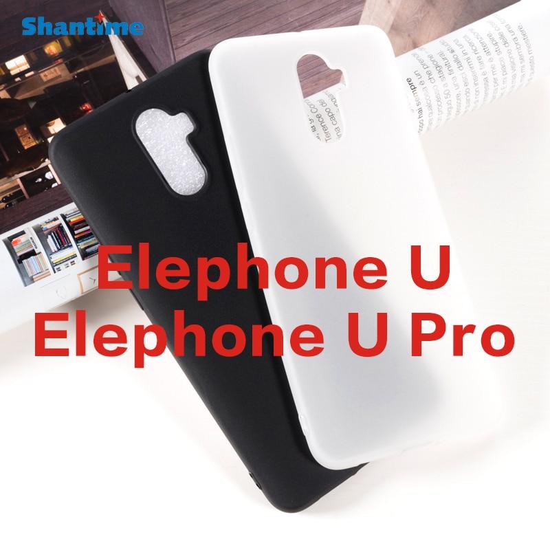 Para Elephone U Pro Gel Pudding silicona teléfono carcasa trasera protectora para Elephone U funda de TPU suave