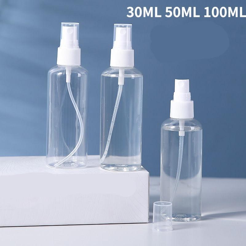 Multifunctional 500ml Plastic Spray Bottle Trigger Sprayer Essential Oil Perfume Container Portable Travel Refillable Bottle
