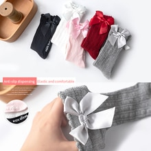 0-4Y Winter Thicken Baby Cute Knee High Socks Kids Toddler Candy Color Soft Socks Kids Legs Warm