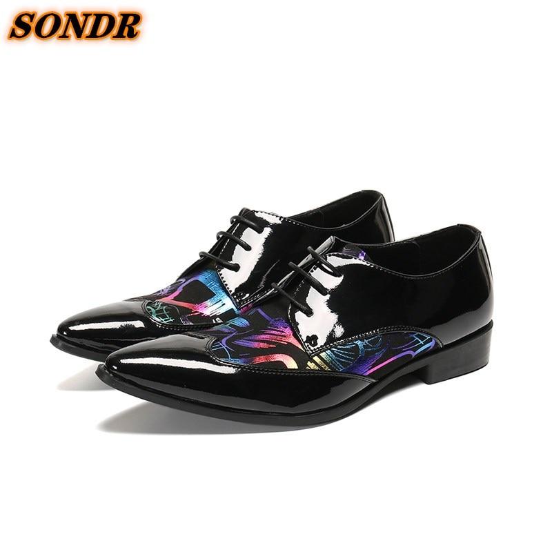 Zapatos De vestir De oficina para hombre, zapatos De vestir formales De...