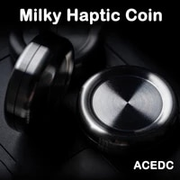 acedc mini milky haptic coin fingertip metal adult decompression toy ppb