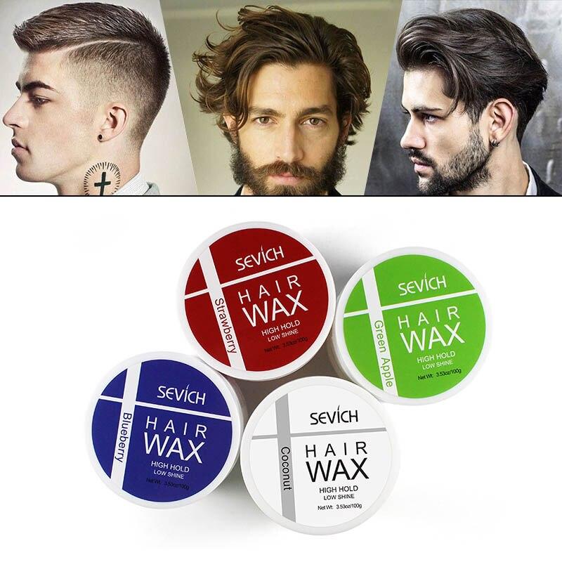 Sevich Four Tastes Coconut Hair Wax One-time Molding One-Time Hair Disposable strong modeling hair wax/mud shape hair gel 100g
