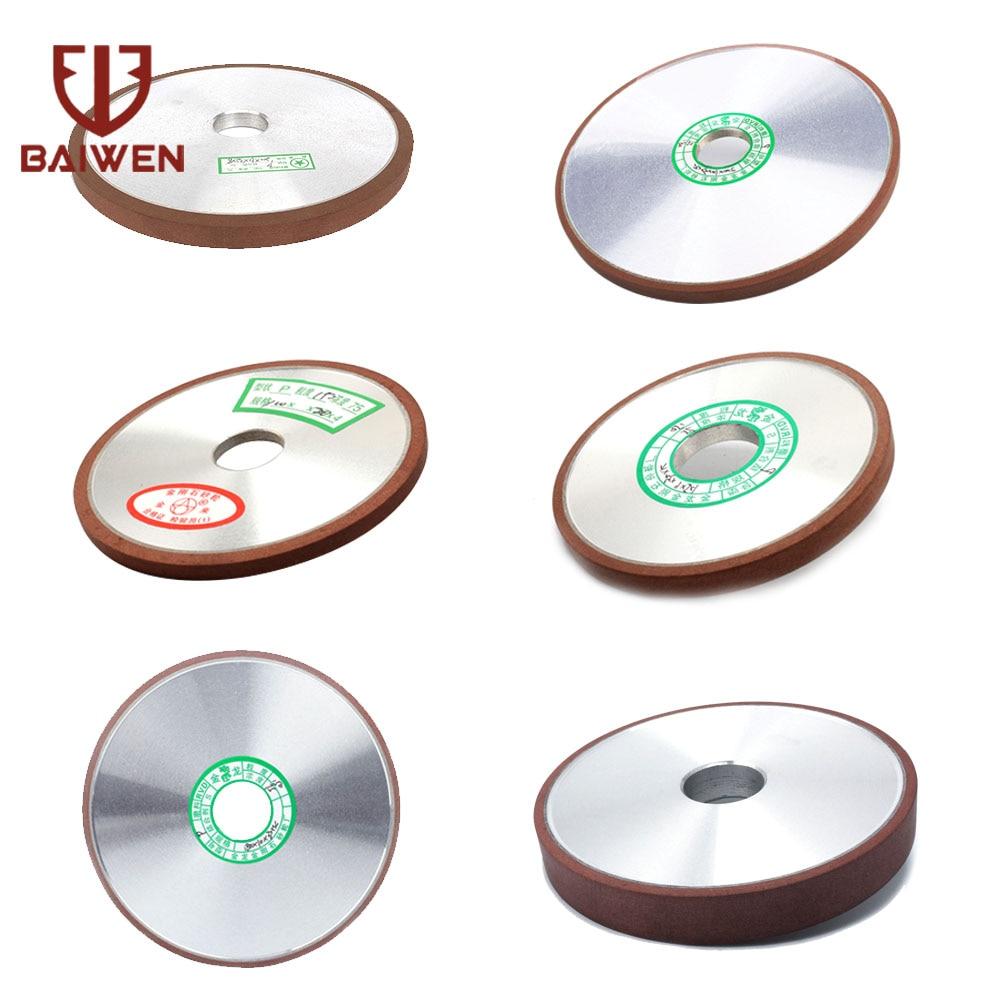100mm/125mm/150mm diamante roda de moagem disco moedor paralelo para tungstênio aço moagem apontador cortador ferramenta abrasiva