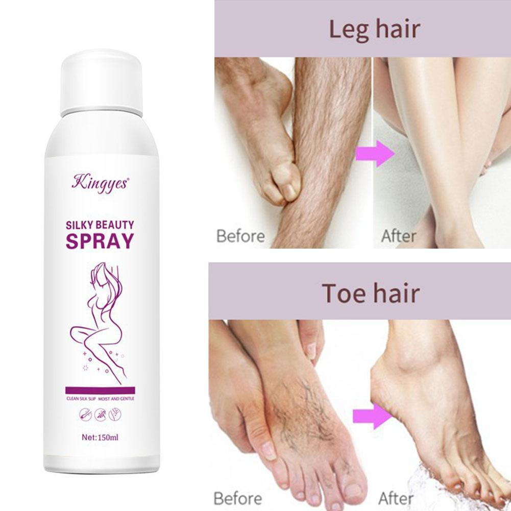 150ml Hair Removal Spray Hair Removal Cream Bikini Cream Smooth & Painless Depilatory Cream for Women Body Hair Remover